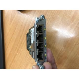 Cisco Card EHWIC-4ESG 4 cổng