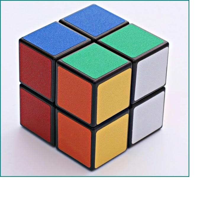 Đồ chơi rubik 2x2x2 ( vrg1126 )