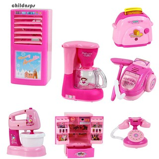 Baby Kids Developmental Educational Pretend Play Home Appliances Kitchen Toy