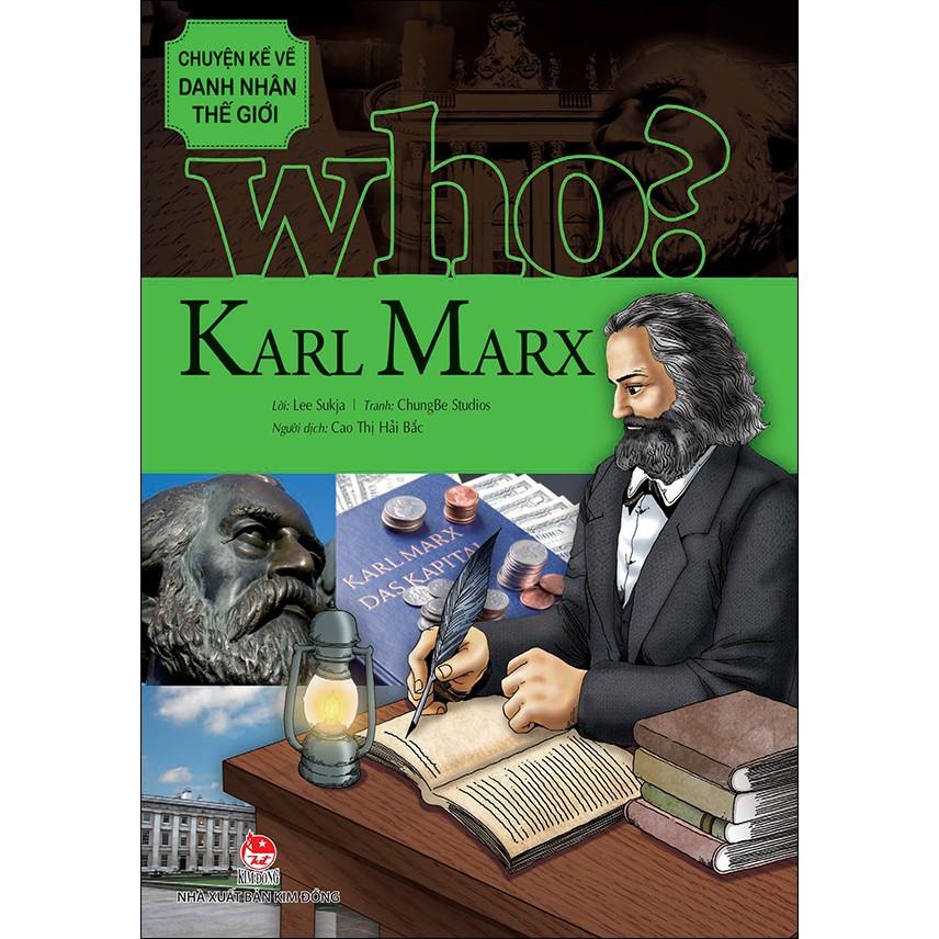 Sách: Chuyện Kể Về Danh Nhân Thế Giới - Karl Marx