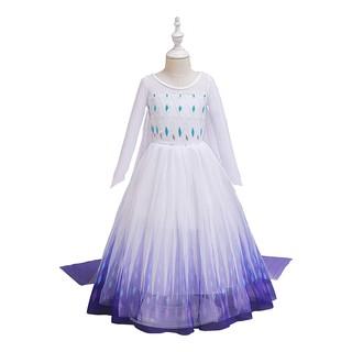 Đầm Hóa Trang Công Chúa Elsa Cho Bé Gái 4-10 Tuổi