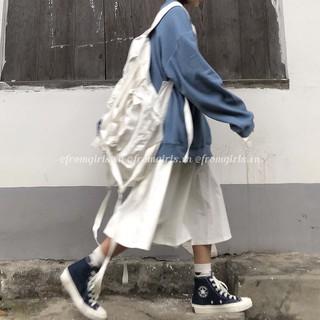 Chân váy xòe kaki ulzzang, chân váy midi basic Hàn Quốc – CV05 For Girls