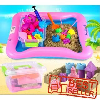 Bộ đồ chơi tạo hình cát động lực cho bé – THANH XUÂN