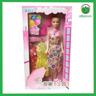 Búp Bê Dự Dạ Tiệc Có Váy Và Giày (BB605)