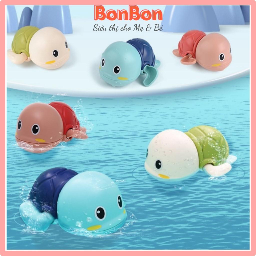 Rùa bơi đáng yêu cho bé thả bồn tắm bể bơi nhỏ gọn dễ thương ngộ nghĩnh cho bé