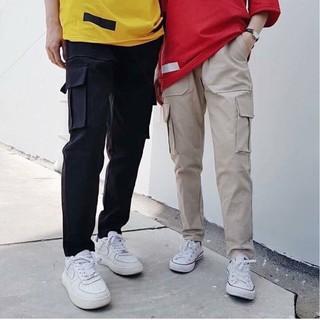 quần kaki túi hộp