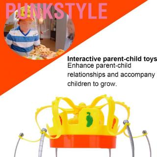 Punkstyle Musical Food Crown Game Toy Electronic Spinning Snack Fruit Hat Machine Party Family for Children
