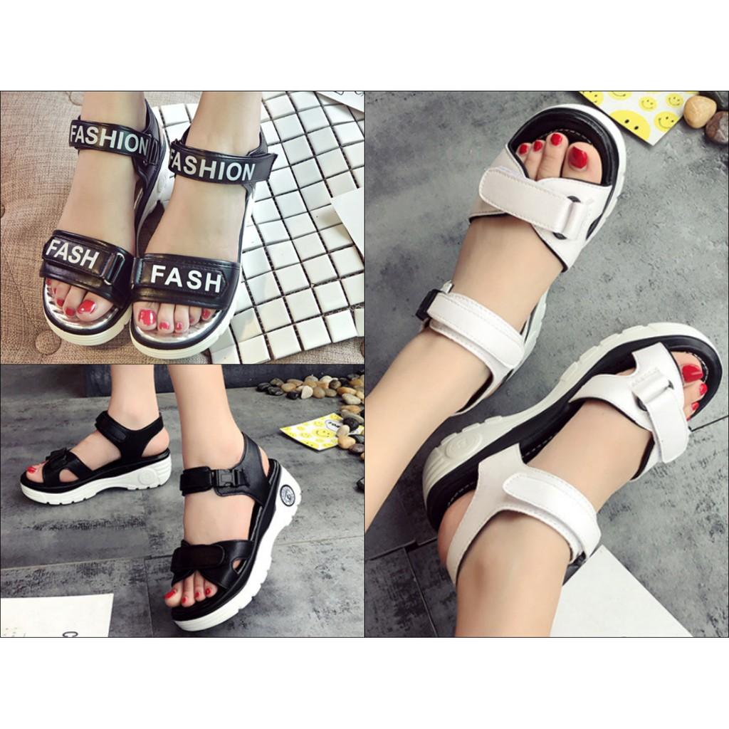 Giày Sandal nữ mới nhất phong cách Hàn Quốc - 2588219 , 1005244636 , 322_1005244636 , 275000 , Giay-Sandal-nu-moi-nhat-phong-cach-Han-Quoc-322_1005244636 , shopee.vn , Giày Sandal nữ mới nhất phong cách Hàn Quốc