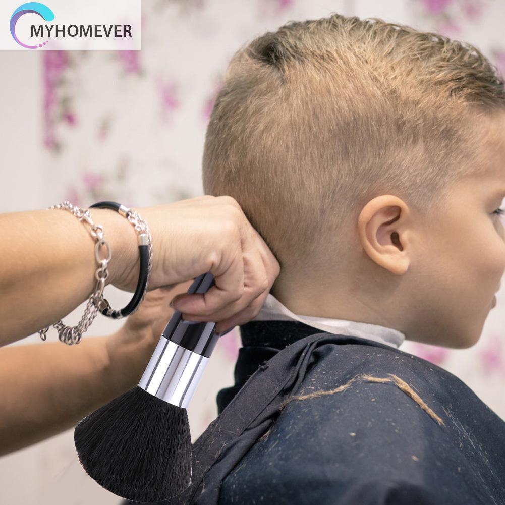 (Hàng Mới Về) Cọ Phủi Tóc Mềm Mại Chuyên Dụng Cho Salon