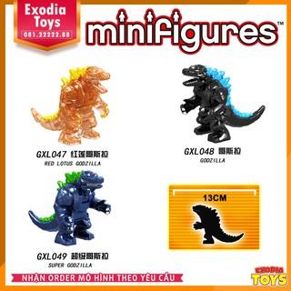 Xếp hình Bigfigure Chúa Tể Godzilla : Đế Vương Bất Tử – Đồ Chơi Lắp Ghép Sáng Tạo – GXL047-049