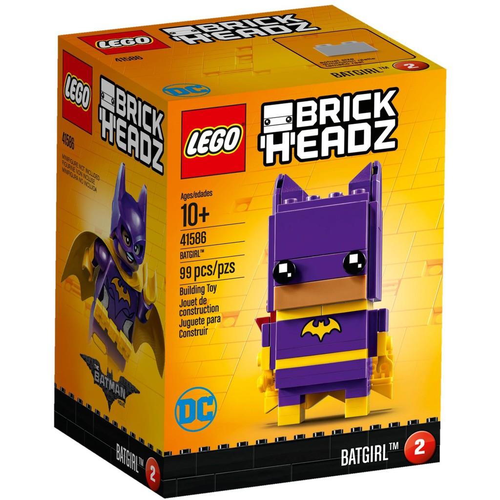 Đồ chơi mô hình Lego Brick Headz – Người Dơi Batgirl 41586 (99 mảnh ghép)