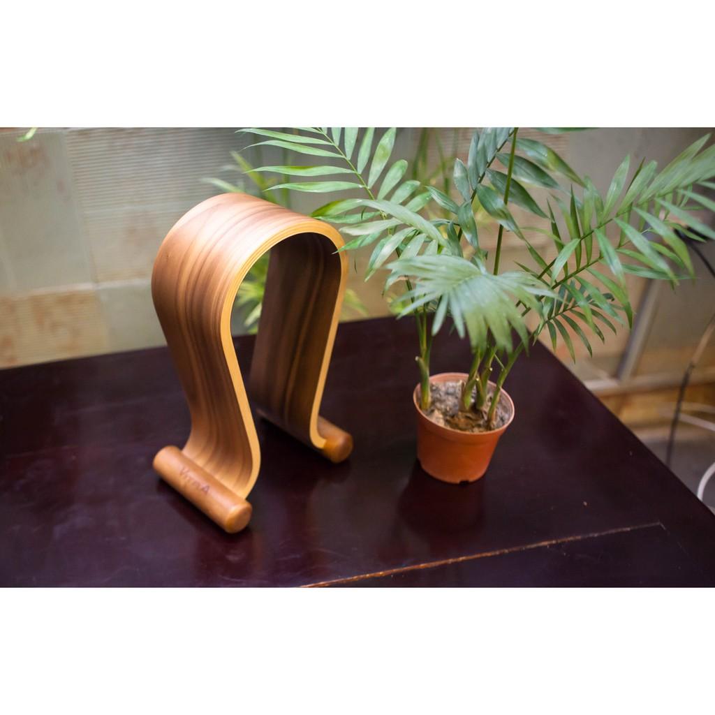 Giá treo tai nghe gỗ Omega Vitra VT05BW