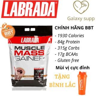 LABRADA MUSCLE MASS GAINER Sữa Tăng Cân Tăng cơ nhanh 5,4kg