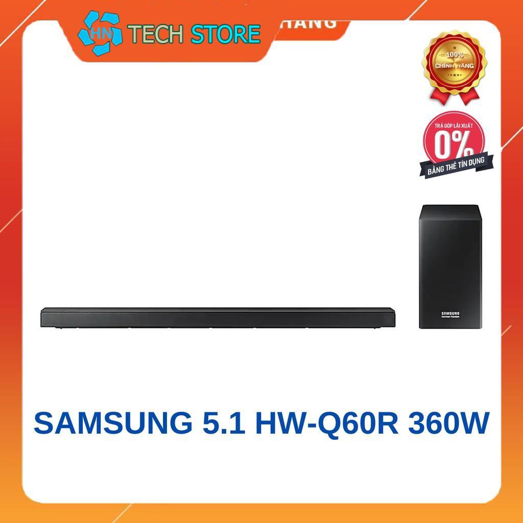 [MÃ TECH99K1T Giảm 99k] Loa thanh Soundbar Samsung 5.1 HW-Q60R 360W | Hàng chính hãng