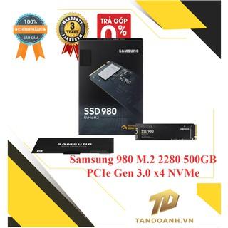 Ổ cứng SSD Samsung 980 M.2 2280 500GB – PCIe Gen 3.0 x4 NVMe V-NAND - CHÍNH HÃNG/NHẬP KHẨU