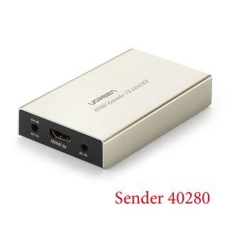 Bộ khuếch đại HDMI 120M qua cáp mạng Lan RJ45 (Sender) Ugreen 40280