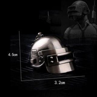 [RẺ VÔ ĐỊCH] Móc khóa mũ 3 PUBG kim loại cực chất