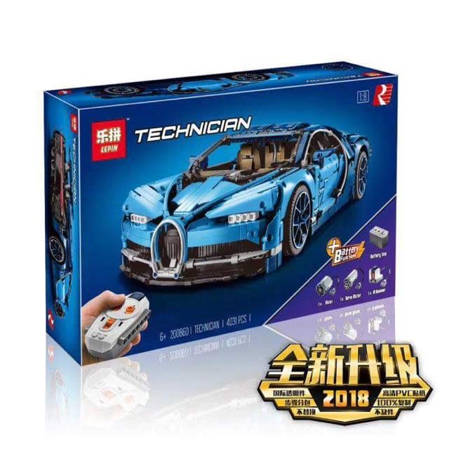 [ Hàng order 7-10 ngày ] Lepin technician – 20086 – Bugatti Chiron