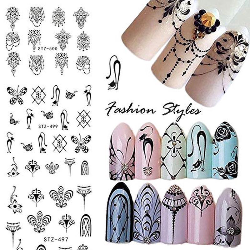Miếng dán trang trí móng tay in họa tiết đẹp mắt thumbnail