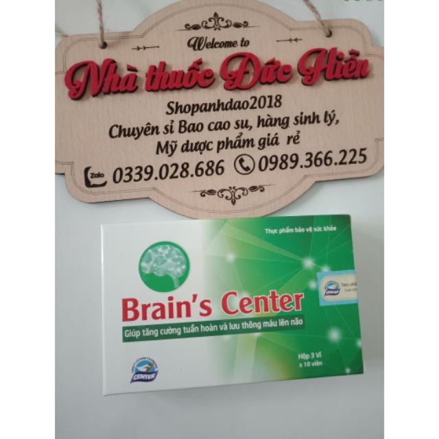 (Đức HIền) Tăng cường tuần hoàn và lưu thông máu Lên não Brain