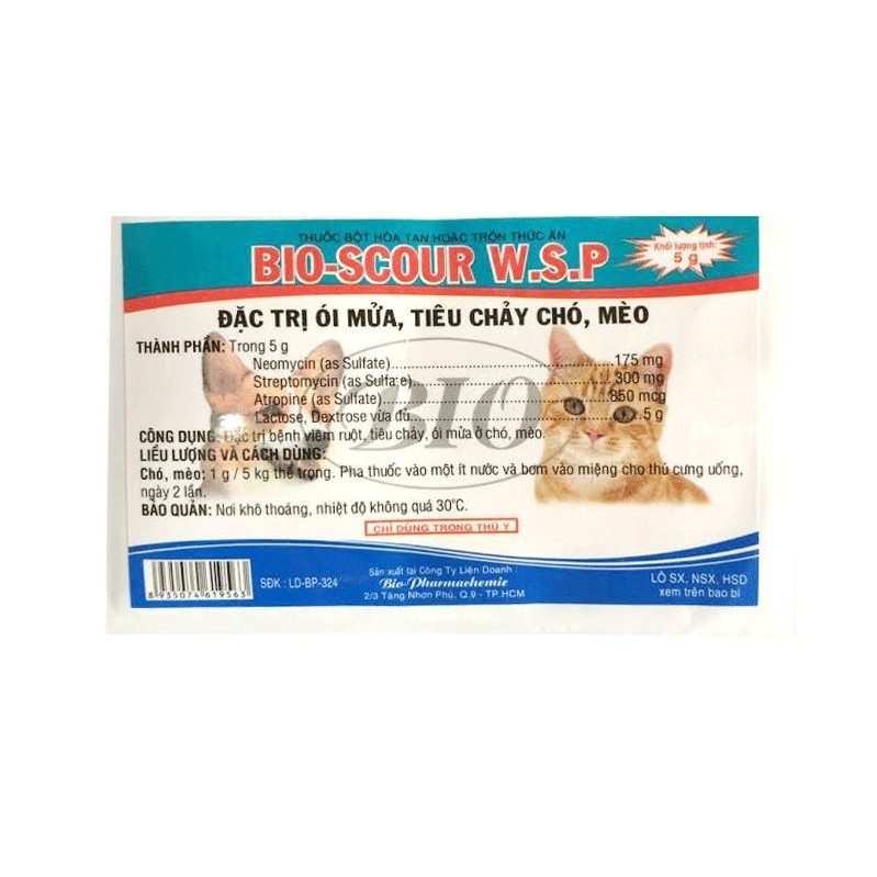 Thuốc trị tiêu chảy ở chó mèo BIO-SCOUR W.S.P - 3057386 , 287910735 , 322_287910735 , 10000 , Thuoc-tri-tieu-chay-o-cho-meo-BIO-SCOUR-W.S.P-322_287910735 , shopee.vn , Thuốc trị tiêu chảy ở chó mèo BIO-SCOUR W.S.P