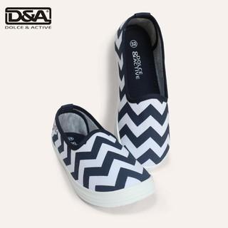 Giày trẻ em D&A EP G1944 kẻ xanh chàm thumbnail