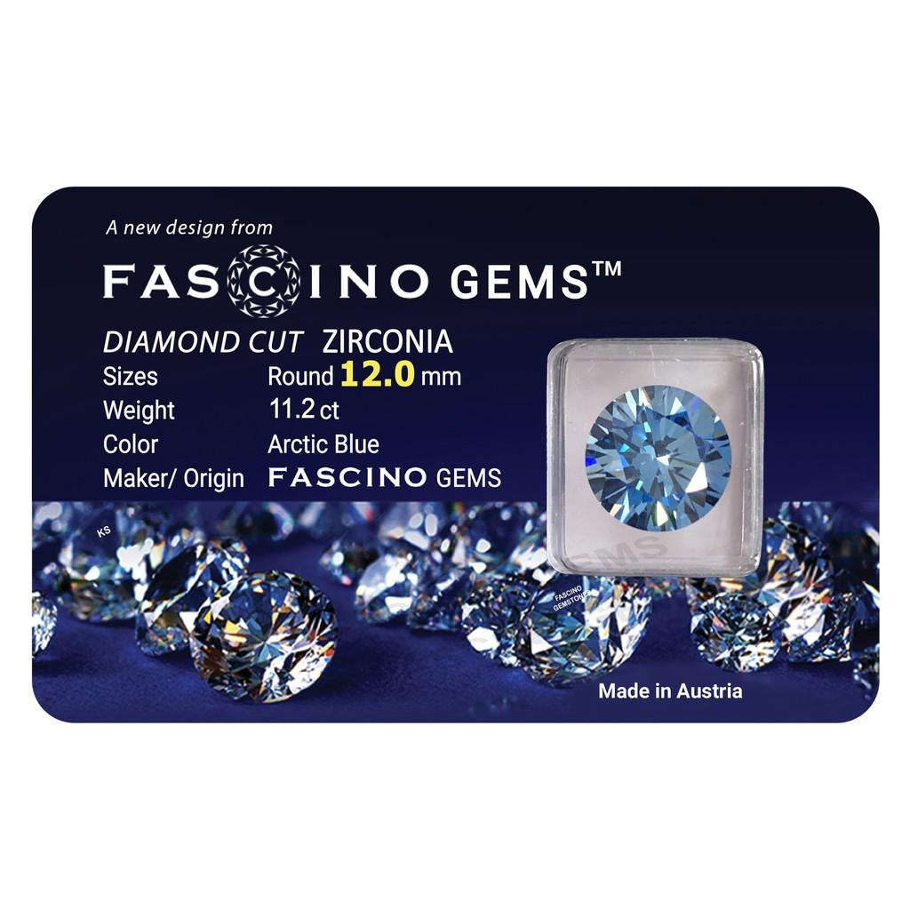 Kim Cương Nhân Tạo FASCINO GEMS Màu Xanh Topa (Arctic Blue) Dạng Tròn Cỡ 12.0 mm - 3552672 , 1346514188 , 322_1346514188 , 999000 , Kim-Cuong-Nhan-Tao-FASCINO-GEMS-Mau-Xanh-Topa-Arctic-Blue-Dang-Tron-Co-12.0-mm-322_1346514188 , shopee.vn , Kim Cương Nhân Tạo FASCINO GEMS Màu Xanh Topa (Arctic Blue) Dạng Tròn Cỡ 12.0 mm