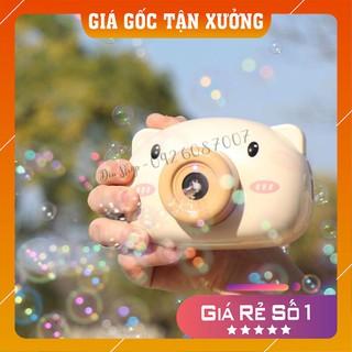 [FREESHIP – Hàng loại 1] Máy ảnh thổi bong bóng xà phòng tự động hình thú có nhạc cho trẻ em
