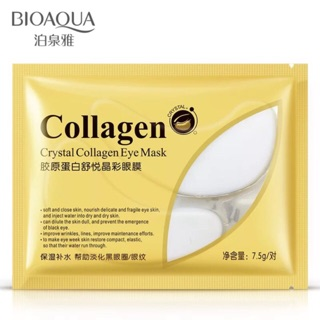 Mặt nạ mắt collagen Bioaqua thumbnail