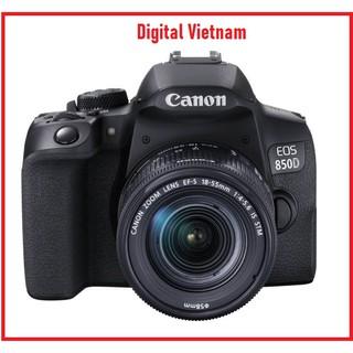 MÁY ẢNH CANON EOS 850D KIT EF-S18-55MM F/4-5.6 IS STM