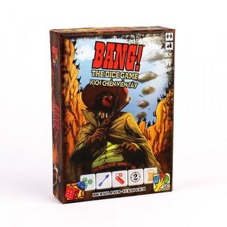 Bài Bang! Cao Cấp – The Dice Game – Kịch chiến viễn tây – eToysVN – No.1 Board Game