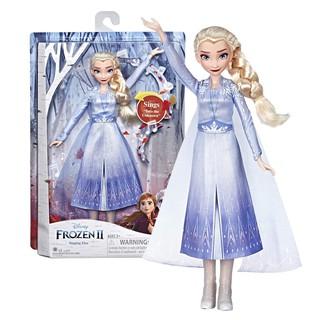 [Mã 1212TINI03 giảm 25% đơn 200k] Đồ chơi Hasbro Frozen 2 búp bê công chúa Elsa biết hát E6852 thumbnail