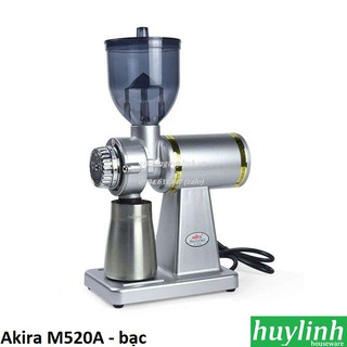[Mã ELMSDAY giảm 6% đơn 2TR] Máy xay cà phê Đài Loan Akira M520A - bạc - dùng cho quán nhỏ