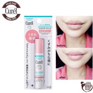 Son Dưỡng Ẩm Chuyên Sâu Có Màu Curél Intensive Moisture Care Moisture Lip Care Cream Light Pink Type 4.2g thumbnail