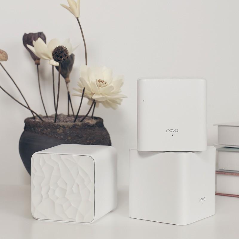 Bộ 3 Cái Wifi Mesh Tenda Nova MW3 (Pack 3)- Ghép Nối Không Dây Cho Vùng Phổ Sóng Rộng Hơn (300m2)