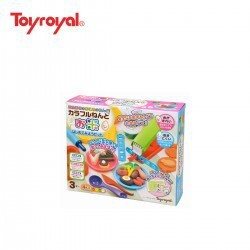 [Rẻ_Mà _Chất] Sét bột nặn từ gạo kèm máy làm kem Party 13 món thương hiệu Toyroyal
