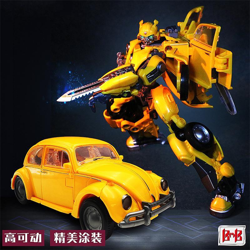 ❉❉✠Black Mamba deformation toy King Kong 5 Megatron v Class Day robot bumblebee car Boy model hand-run
