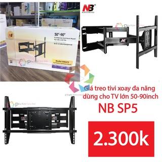 Giá treo tivi xoay đa năng NB SP5 dùng cho TV lớn 50-90inch