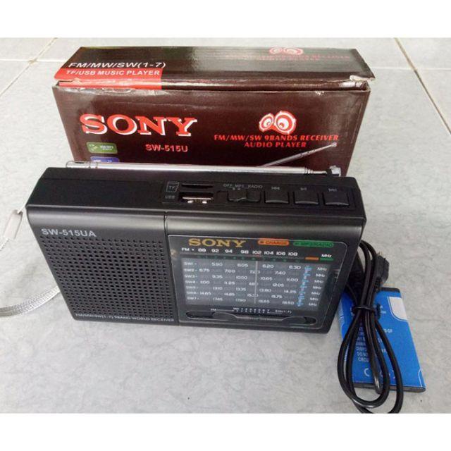 Đài Radio Fm Sw-515UA,Usb Nghe Nhạc Cao Cấp.