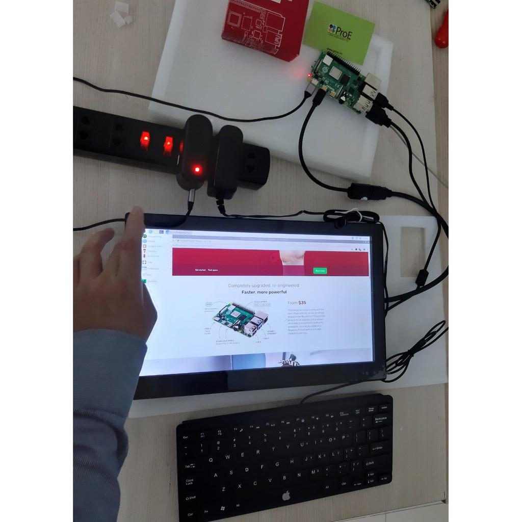 Màn hình 13.3inch HDMI LCD (H) (with case), 1920x1080, IPS, chính hãng Waveshare