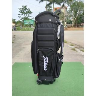[ GIÁ HỦY DIỆT ] [ SIÊU CAO CẤP] Túi gậy golf Titleist cao cấp có bánh xe kéo [ DỤNG CỤ GOLF ] thumbnail