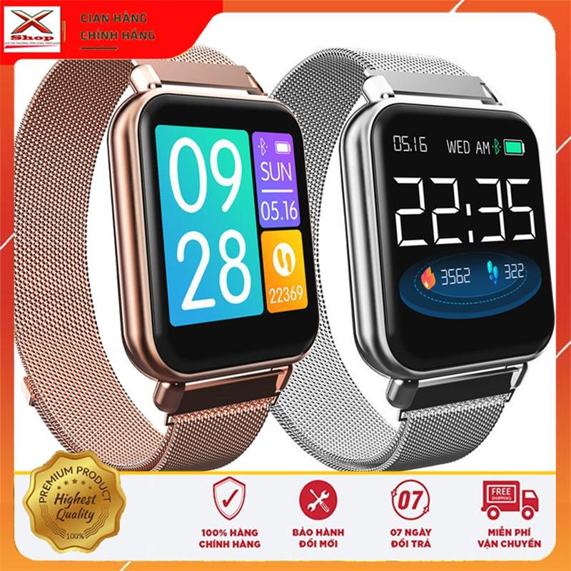 Đồng Hồ Thông Minh Z9 Pro - smartwatch pin khủng dây thép, đo huyết áp nhịp tim, kết nối bluetooth, chống nước giá rẻ
