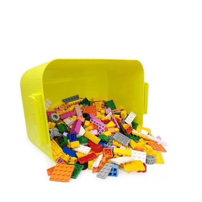 [Nhập mã TOYJUNE giảm 10K]Hộp đựng Lego kiêm hộp chơi chuyên dụng chơi xong chỉ việc gạt vào hộp cài khóa