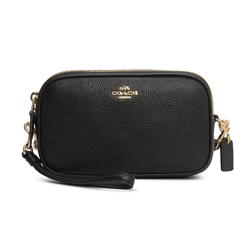 COACH Women Camera Bag Litchi Grain Cowhide Single Shoulder Inclined Bag 65547