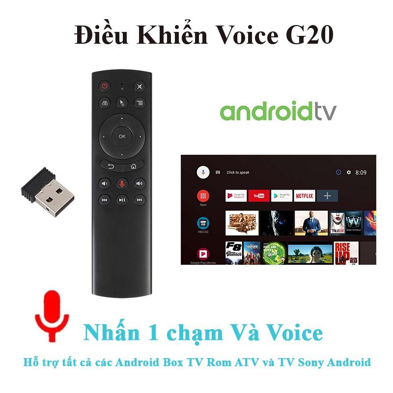 Điều khiển giọng nói G20 Voice , hỗ trợ Android box và Tivi sony Android TV