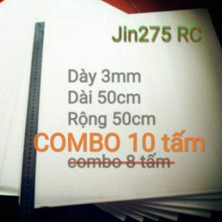 Xốp Depron 3mm COMBO 10 tấm (chế tạo kit máy bay RC)