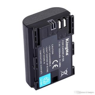 Pin và Sạc đôi KingMa LP-E6 cho CANON 70D 60D 6D 7D 5DII và nhiều máy khác