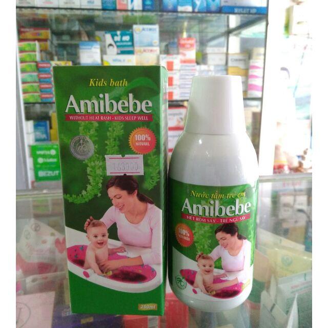 Nước tắm rôm sảy từ thảo dược thiên nhiên AMIBEBE an toàn cho bé yêu - 2659764 , 557966476 , 322_557966476 , 163000 , Nuoc-tam-rom-say-tu-thao-duoc-thien-nhien-AMIBEBE-an-toan-cho-be-yeu-322_557966476 , shopee.vn , Nước tắm rôm sảy từ thảo dược thiên nhiên AMIBEBE an toàn cho bé yêu