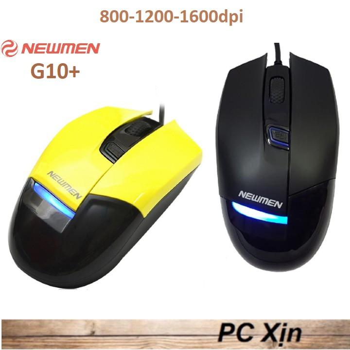 Chuột game Newmen G10+ chính hãng