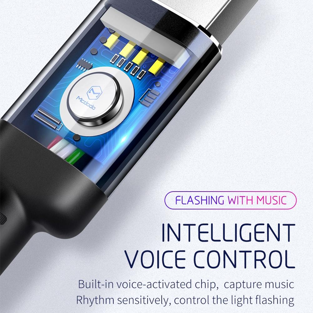 Cáp Sạc Có Đèn Led Cho Iphone Xs X 8 7 6 - Các Loại Cáp Khác
